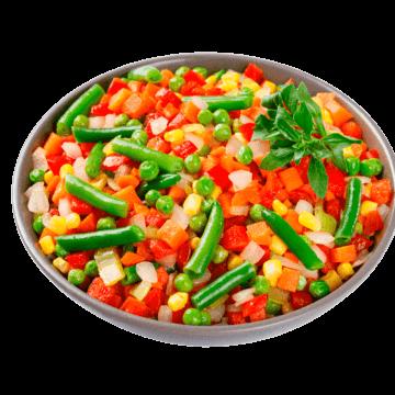 Замовити доставку додому Суміш овочева Андалузька можна в усіх містах, де представлені фірмові магазини компанії Еліка
